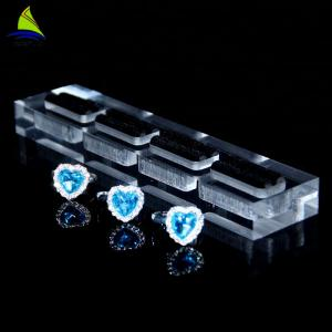 China Acrylic Customized Ring Presentation Finger Ring Display Stand on sale