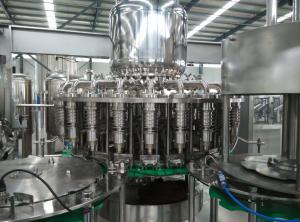 China AC220V / AC380V Beverage Bottling Equipment For Screw Cap Round Bottle on sale