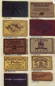 China garment tag & label manufacturer on sale