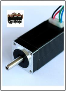 China 1.8 Degree 20BYG Hybrid Stepper Motor , 4 Phase Stepping Motor on sale