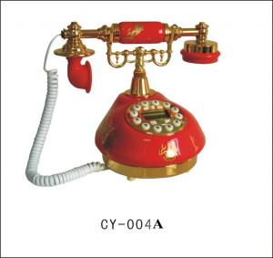 China Ceramic antique old style antique telephone on sale