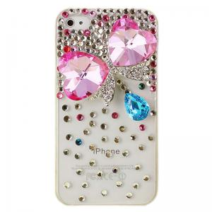 China 3D Stereoscopic Crystal Diamond Bling Handmade Case for iPhone 4/4S,zk003 on sale