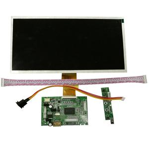 China 10.1 Inch 250cd TFT Display LCD Touch Screen / GPS Navigators Flexible LCD Display on sale