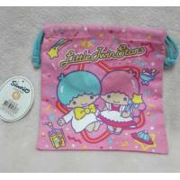 China Kids Jewelry Storage Cloth Drawstring Bags Embroidery Logo With Hand Rope on sale