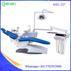 China LED lamp Dental Chairs & Dental Stools ,Dental Patient Chairs CX-327 dental chair unit  without dental air compressor on sale