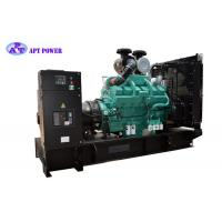 50Hz Frequency Chinese Cummins Diesel Generator With Open Type Diesel Generator Use for Buildings