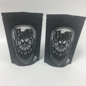 China Digital Printing 1oz Plastic Mylar Edibles Cookie Bags MOPP on sale