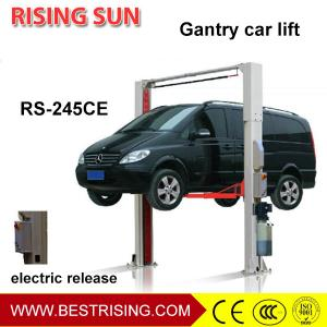 China Double cylinder electric unlock two post used car lifts for sale on sale