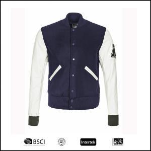 China 2017 Fashion hot sell cheap good quality chinese OEM men winter fleece baseball jacket on sale