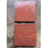 Red Porphyry Granite Basalt Paver Tiles , Basalt Paving Slabs Stones