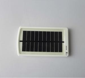 China 5V 3Ah white Portable LiPo solar mobile phone charger on sale