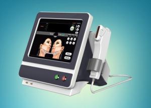 China 5 Heads HIFU Face Lifting Machine Wrinkle Removal HIFU Slimming Machine With Teaching Video on sale