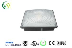 China 45 W Led Canopy Lights Fixtures , Security Areas Gas Station Lighting Brightness on sale