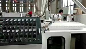 China Jwell PVC Foam  Advertising Board Extrusion Line on sale