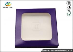 China Customize Logo Glossy Foil Paper Packaging Box / Cosmetic Gift Box on sale