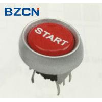 China 5 Pin LED Tact Switch Red Push Button Momentary Operation For Office Equipment on sale
