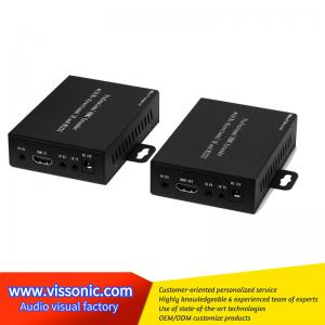 China Remote Control Video Scaler Switcher HDMI Cat5 Extender Light Thin Case Design on sale