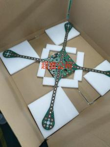 China Rigid Flex Printed Large PCB Prototype Board SMT+Plugin Drone Product Immersion Gold on sale