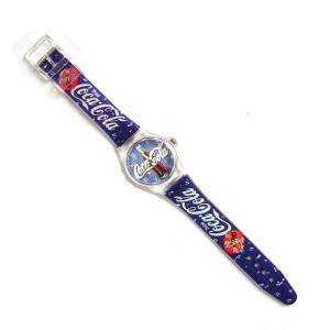 China Cocacola Quartz Sport Wrist Watch PVC Band Customized Dail and Strap on sale