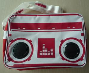 China Personalized 7CM Radio Cooler bag 600 / pvc printing + Aluminum Coating on sale