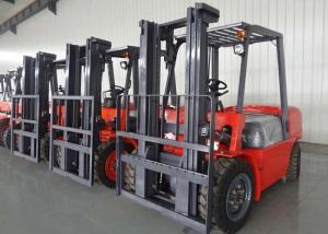China Industrial Warehouse Forklift Trucks / Counterbalance Forklift Truck With Manual Transmission on sale