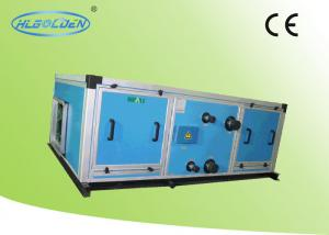 Quality Ceiling Type 8 Rows Air Handling Units Use For Commercial With Chilled And Hot Water for sale
