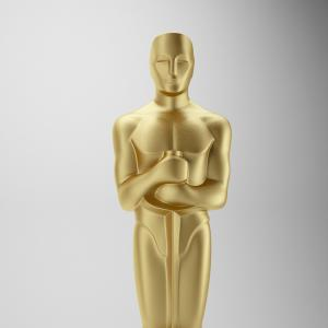 China 90h Oscar Academy Award  most memorable statues  for sale with golden fiberglass as movie celebrating party celebration on sale