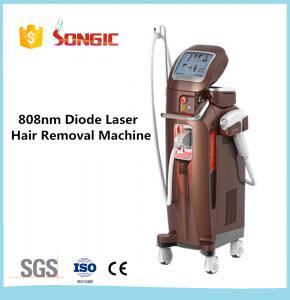 China Songic Vertical Style 808nm Home Laser Hair Removal Machines White on sale