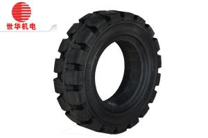 China Yuan 15x4.5-8 Solid Industrial Tyres 301 Deep Groove Block Pattern on sale
