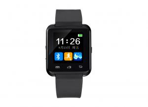 China Black Bluetooth Smart Watches With Touch Screen , Smartphone Watch on sale