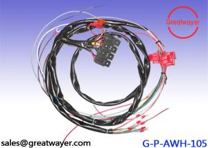 China Street Rod Universal 6 Fuse vehicle wire harness Circuit W - Connectors US MADE GXL on sale