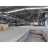 PET Bottle Recycling Line Plastic Processing Machinery For Crushing / Washing / Drying