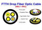 Kevlar MM SM Fiber Optic Cable Indoor Outdoor 7.0 Mm SOS PDLC ODVA DLC