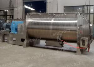 China Plastic Single Shaft Paddle Mixer / Powder Mixer Machine For PVC / PP / ABS Powder, pellets mix on sale