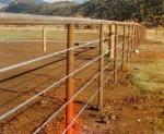 """3/8"""" Galvanized Steel Wire Rope Strand For A Livestock Instalation ( Ranch ) , Cattle Yard"""