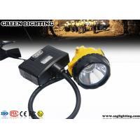 Semi Corded Led Miners LampWith Rear Warning Light , 6.8Ah 3.7V Miner Headlight
