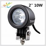 Hot sale 9~30V DC 2inch round 10W Cree flood spot motorcycle light IP68 LED driving light for motorbike