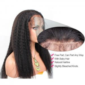 China ALL COLORS Pre Bonded Hair Extensions 100 Percent  Virgin Hair Lace Wigs For Afro on sale