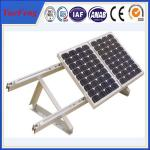 anodized aluminium profile for solar panel frame, solar mounting china suppliers