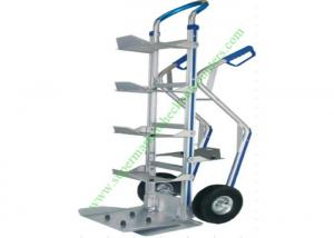 China Aluminum Bottled Water Tray Wire Shopping Trolley , Heavy Duty Foldable Hand Truck With Wheels on sale