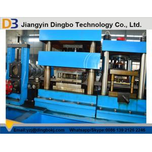 China Low Noise Two Waves Guardrail Roll Forming Machine With Simple Structure on sale