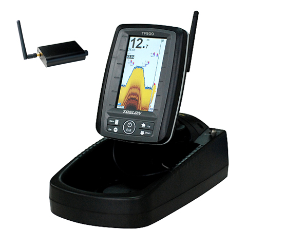 wireless sonar tf500 fish finder used for bait boat for sale, Fish Finder