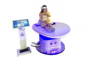 China White Amusement Virtual Reality Machine Slide Motion Simulator With 45 Games on sale