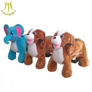 China Hansel battery operated dog toy for kids battery operated dinosaur toys ride on walking toy animals on sale