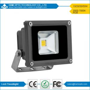 China led flood light 10w ip65 black housing on sale