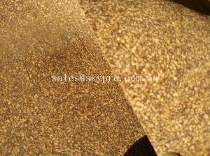 China Floor Cushions Summer Cork Roll Gym Equipment Cork Rubber Gasket Badminton Sports Floor Mats on sale