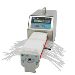China multichannel peristaltic pump for culture media on sale