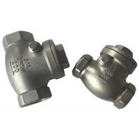 Screwed SS316 and SS304 Check Valve , Cast Steel Swing Check Valve