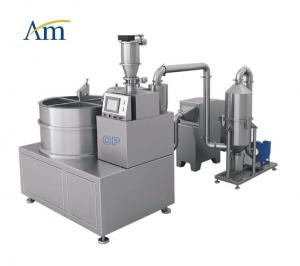 China CP Centrifugal Pelletizer Pharmaceutical Granulation Equipments Layering Spray Dryer Granulator and coater on sale