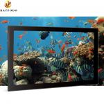 Advertising Displayer Full HD Touchscreen Monitor Raypodo 18.5'' 1366 * 768 For Super Market